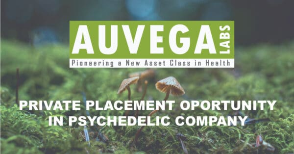 Private Placement Opportunity in Psychedelic Pharmacology