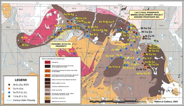 Marvel Completes Heliborne Survey On Duhamel Nickel-Copper-Cobalt Property, Qc.