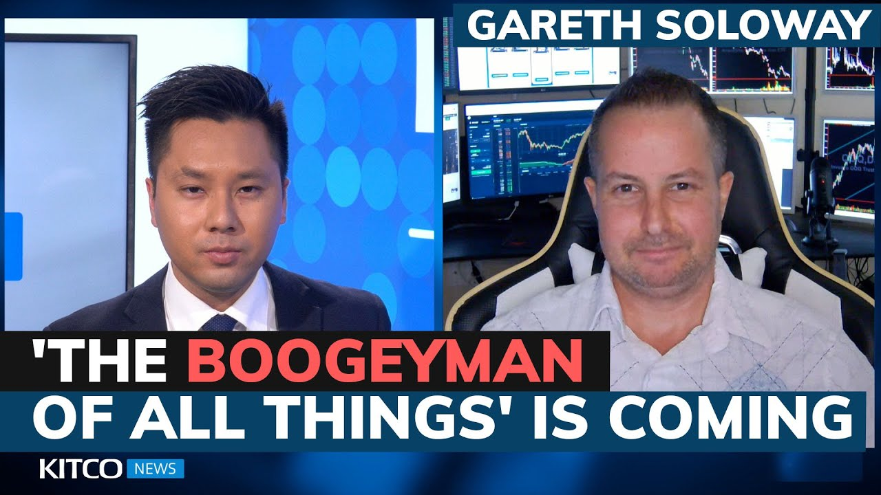 Stocks tank; Is a giant market crash really coming? Key level breached says Gareth Soloway